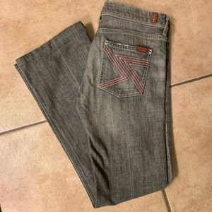 7 for All Mankind Flynt Bootcuts, 28